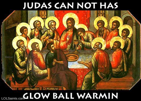 Judas Can not Has - Glow Ball Warmin