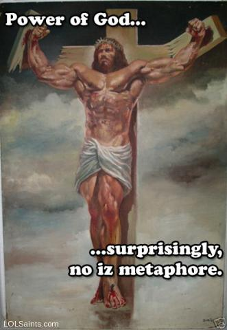 Jesus on the Cross - Super Strong Edition