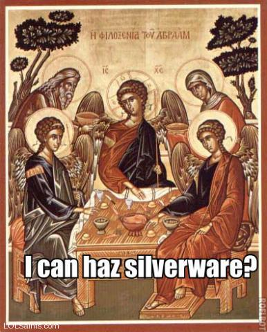 I can haz silverware?