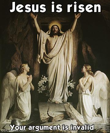 His hair is not a bird; it doesn't NEED to be a bird. Jesus is risen!