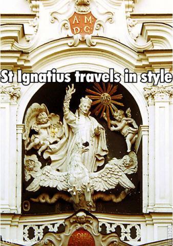 Saint Ignatius of Loyola Hand Grenade