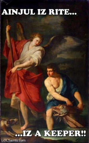 Raphael and Tobit - Angel is right... it's a keeper!