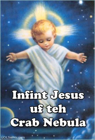 Infant Jesus of the Crab Nebula