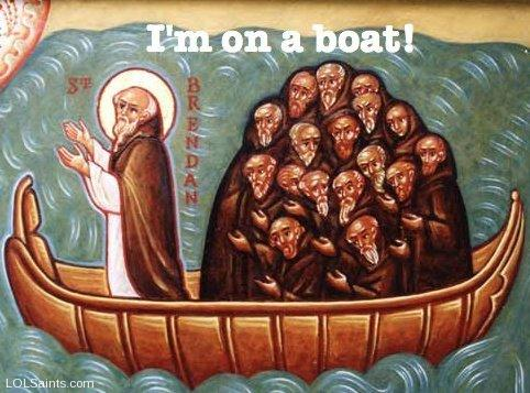 St. Brendan - I'm on a Boat!