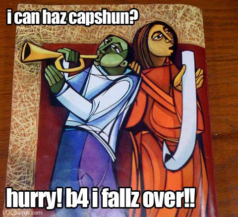 Easter Capshun Contest - I can haz capshun?