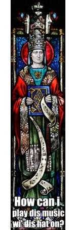 Tall Hat Pope Gregory the Great