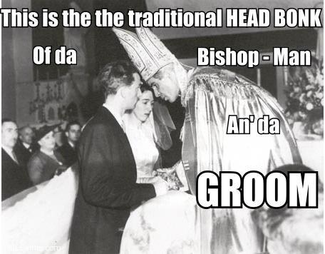 Bishop Fulton J. Sheen - Head Bonk Marriage LOL