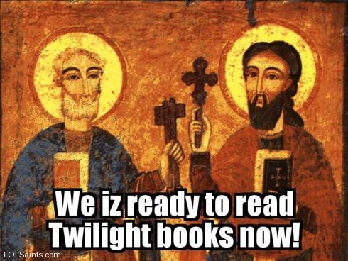 Saints Peter and Paul - ready to read Twilight books