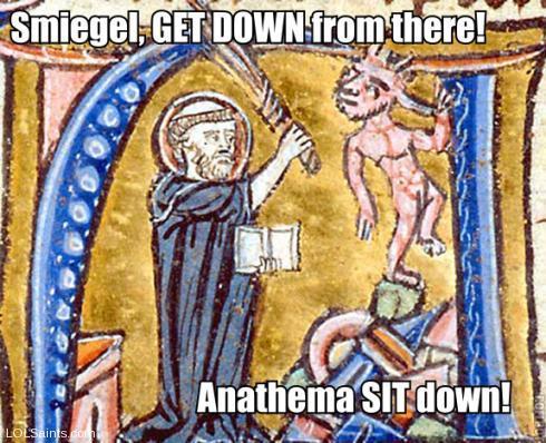Smeagol - Anathema SIT down! Saint Augustine