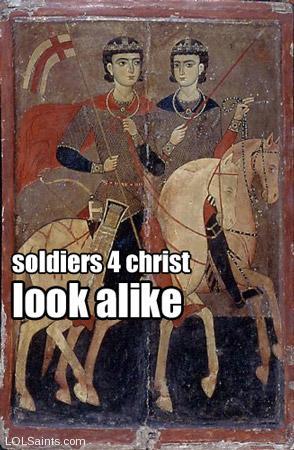 Soldiers 4 Christ Look Alike - Sergius and Bacchus