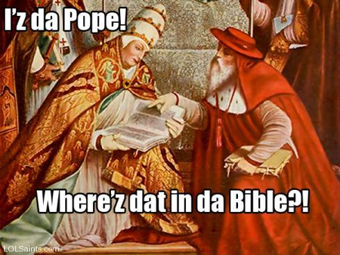 Iz da Pope! Gregory the Great and Jerome