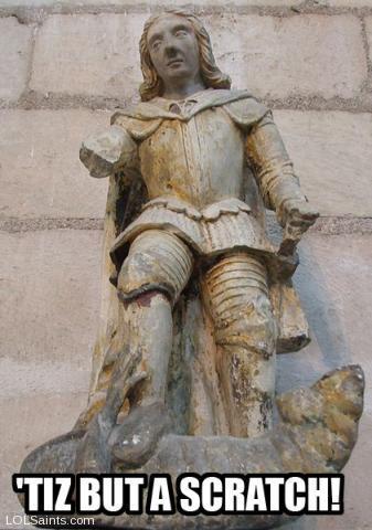 St. George the Dragon-Slayer